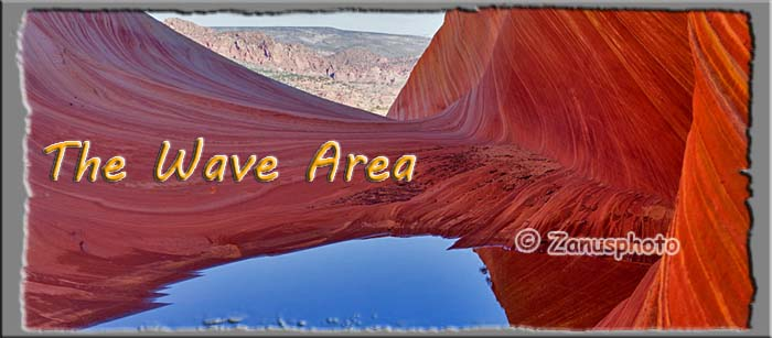 Titelbild der Webseite Coyote Buttes North
