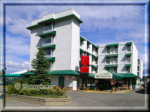 High Country Inn in Whitehorse