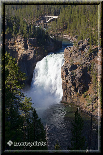 Upper Falls from Uncle Tom´s Point