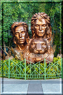 Denkmal für Siegfried and Roy