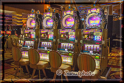 Slot Machines im Casino