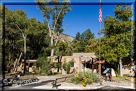 Visitor Center im Bandelier NM