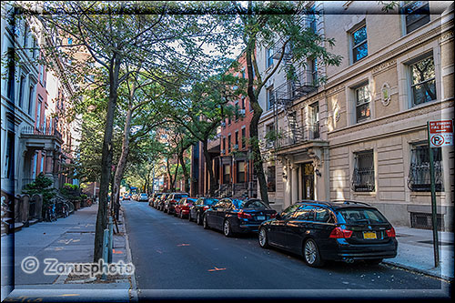 Wohnstrasse in Brooklyn Heights