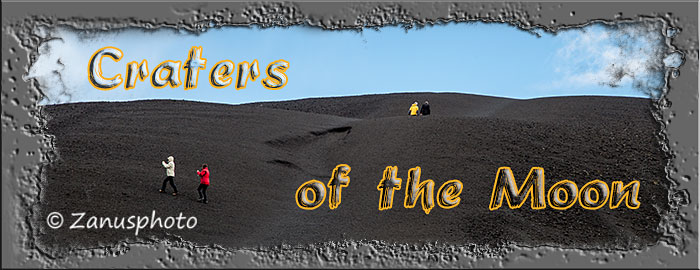 Titelbild der Webseite Craters of the Moon