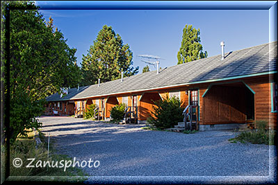 Unser Motel in Fort Klamath