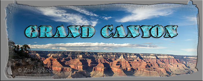 Titelbild der Webseite Grand Canyon