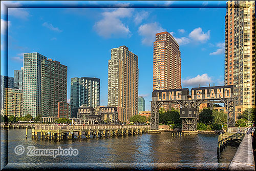 Long Island City am Ostufer des East River