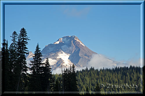 Mount Hood in der Morgensonne