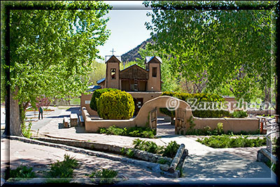 Kirchenanlage in Chimayo