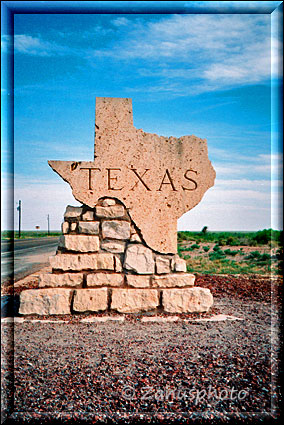 Welcome Sign Texas