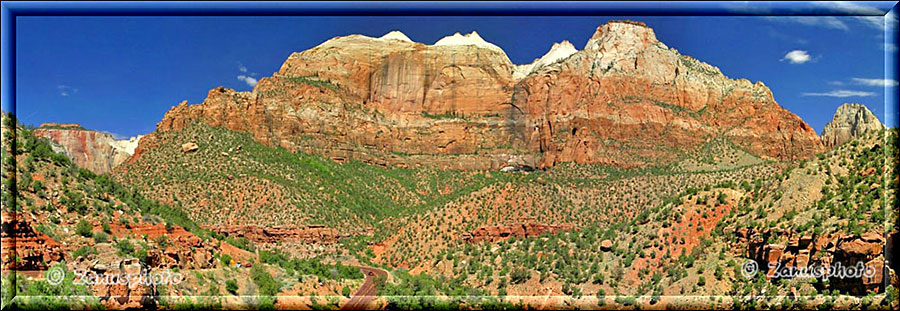 Panorama aus dem Zion National Park