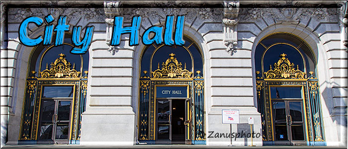 Titelbild der Webseite SF City Hall