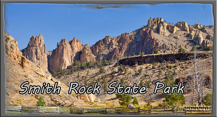 Titelbild der Webseite Smith Rock