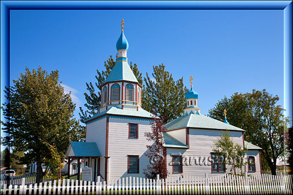 Russian Orthodox Church in Kenai