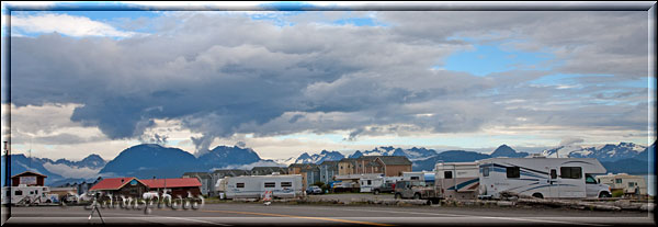 Campground in Homer Spit