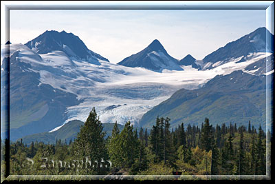 Worthington Glacier am Richardson Highway