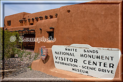 Visitor Center des White Sands National Park